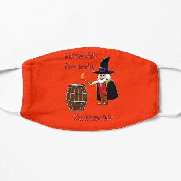 Remember, Remember 5th November 1605 Flat Mask