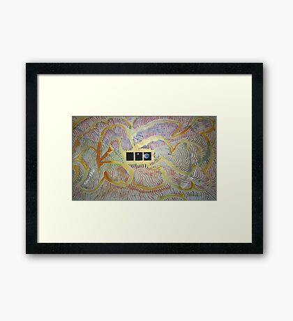 Seeing Into the Heart of Space Framed Print