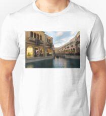 It is Not Venice - Canal Light Path Unisex T-Shirt