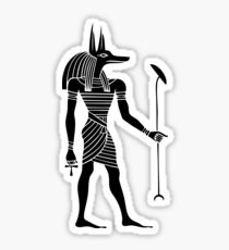 Egyptian God Anubis Sticker