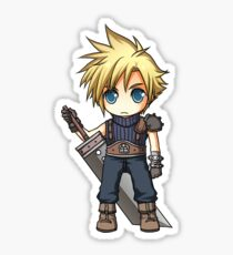 Cloud Strife Stickers Redbubble