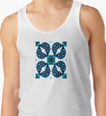 Sea Blue Watercolors  Tank Top