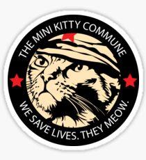 Chairman Meow - Patch Dark Sticker