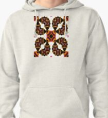 Thoughts Of Autumn Watercolor Pullover Hoodie