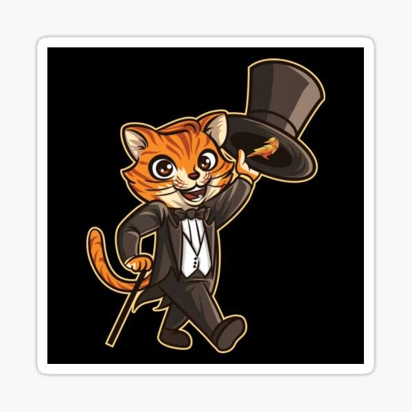 Magier Cat Sticker