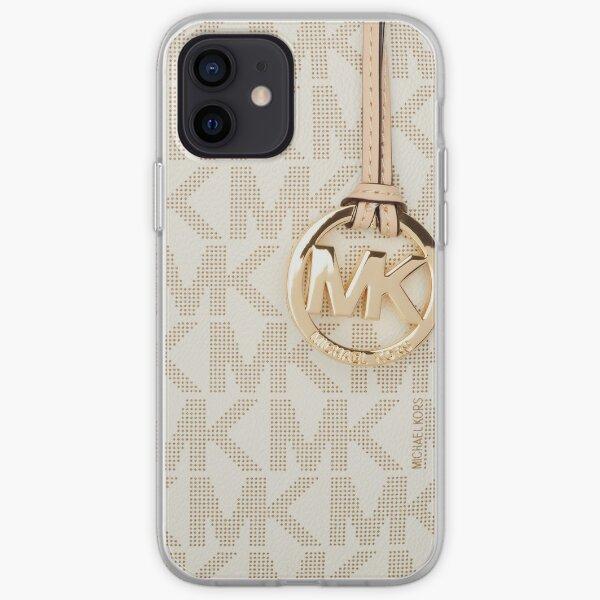 brillo dorado Funda blanda para iPhone