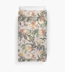 Soft Vintage Rose Pattern Duvet Cover