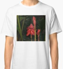 Red Torch Ginger Lily - Glossy, Exotic and Wonderful Classic T-Shirt