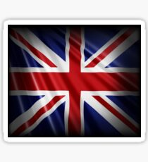 Union Jack Patriotic Flag Sticker