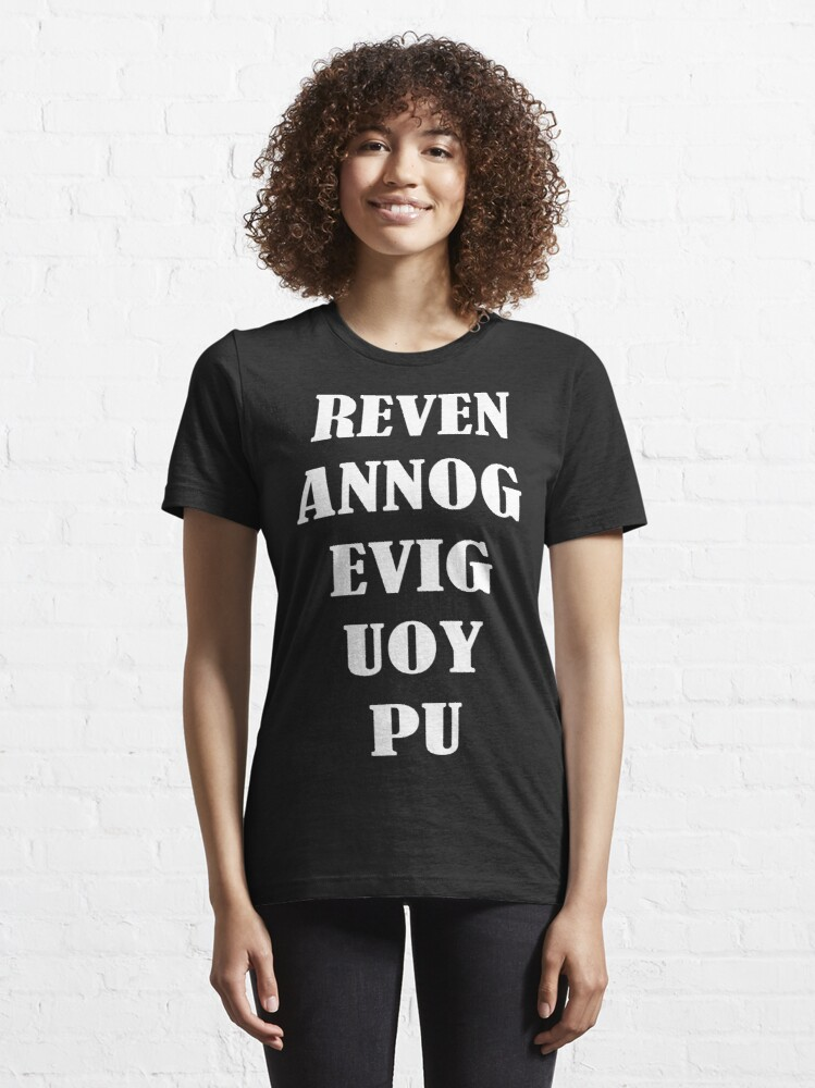 Alternate view of Never gonna give you up Essential T-Shirt