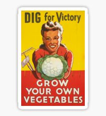 Dig for Victory Sticker