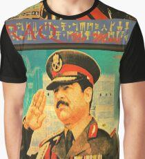 Saddam Propaganda  Graphic T-Shirt