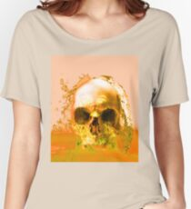 Golden Skull in Water Women's Relaxed Fit T-Shirt