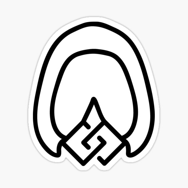 Equine Unity Black Sticker