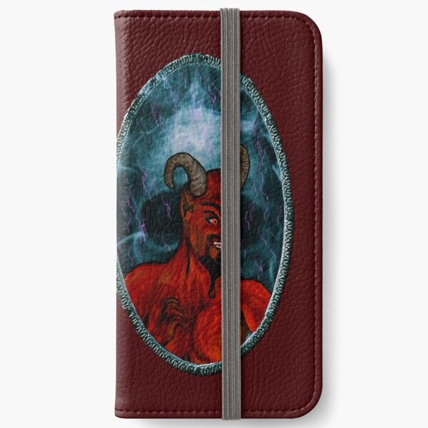 Devil's mirror iPhone Wallet