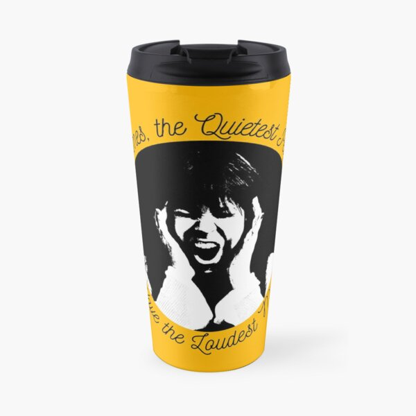 Sometimes the Quietest People Have the Loudest Minds Travel Mug