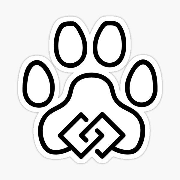 Feline Unity Black Sticker
