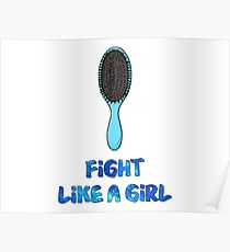 Fight Like A Girl - Rachel Elizabeth Dare Poster