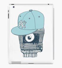 Blue Cap NY iPad Case/Skin