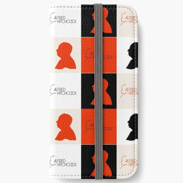 Alfred Hitchcock Psycho (Psycho Style) iPhone Wallet