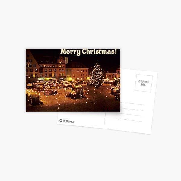 Merry Christmas from Estonia! Postcard
