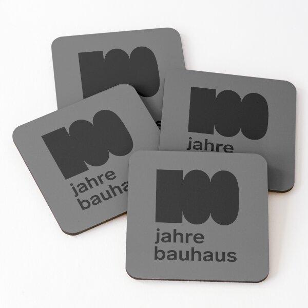 Bauhaus, centennial anniversary Coasters (Set of 4)