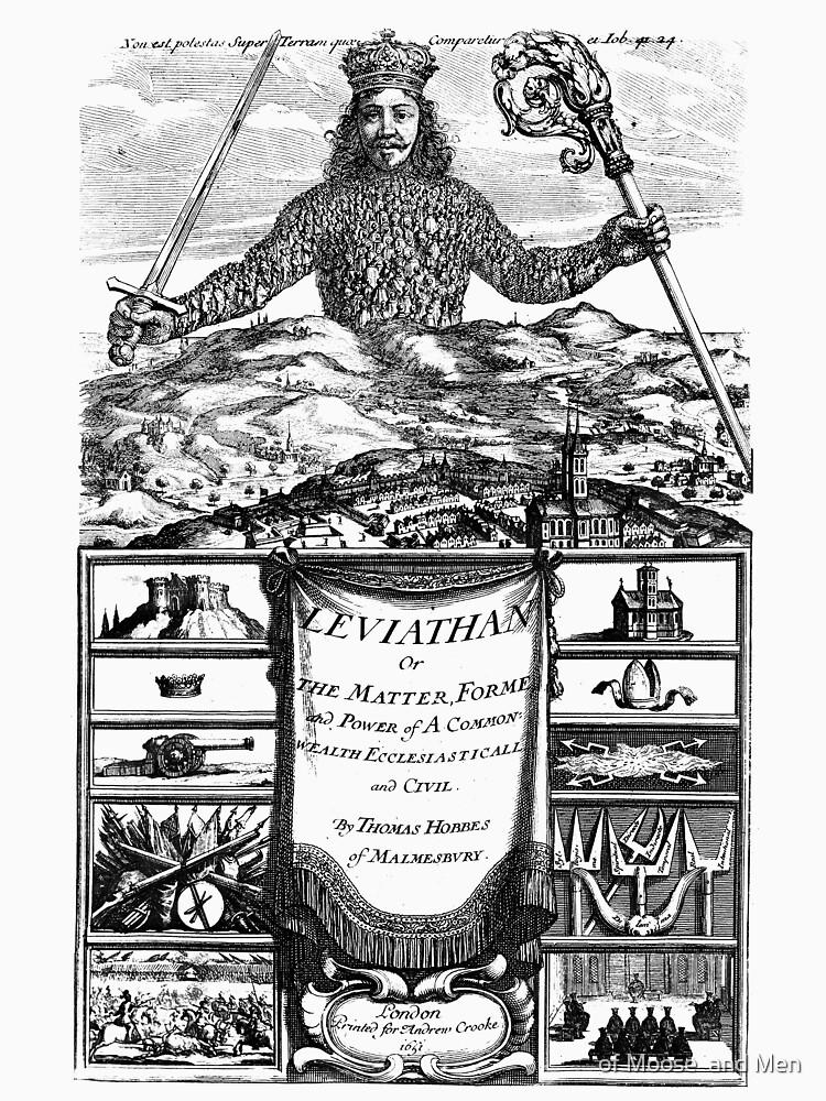 Leviathan (Thomas Hobbes) by ofmooseandmen