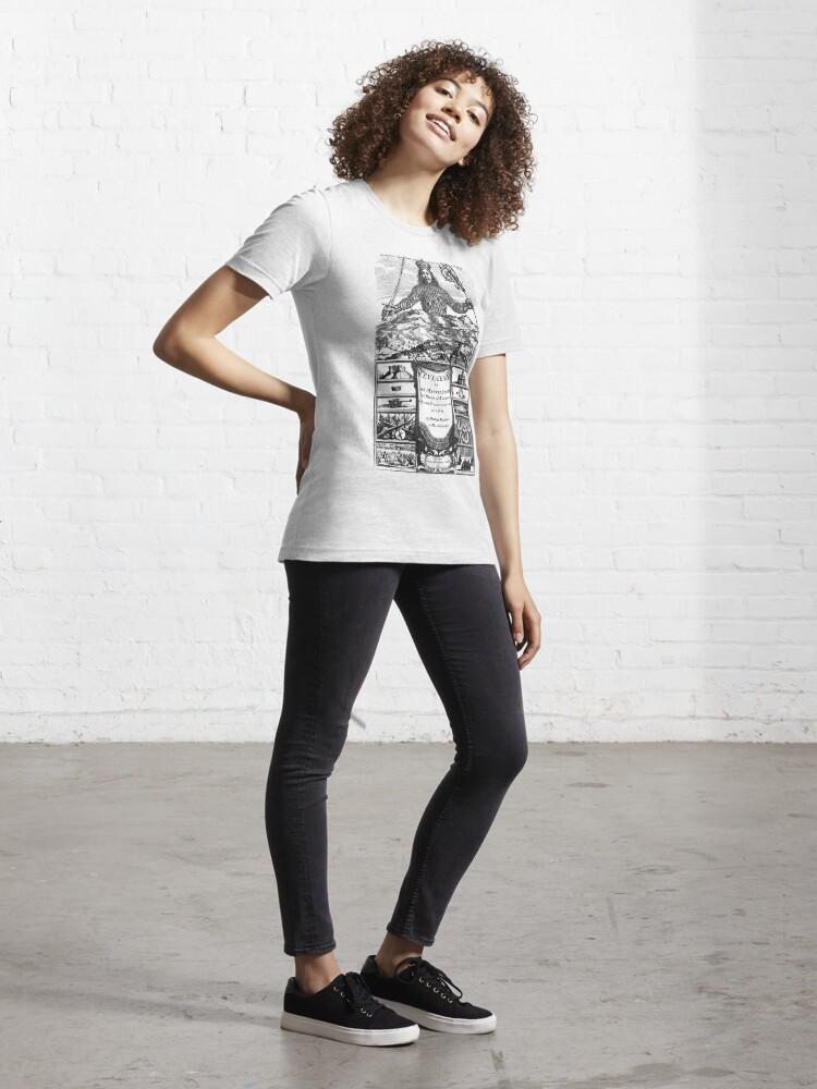 Alternate view of Leviathan (Thomas Hobbes) Essential T-Shirt