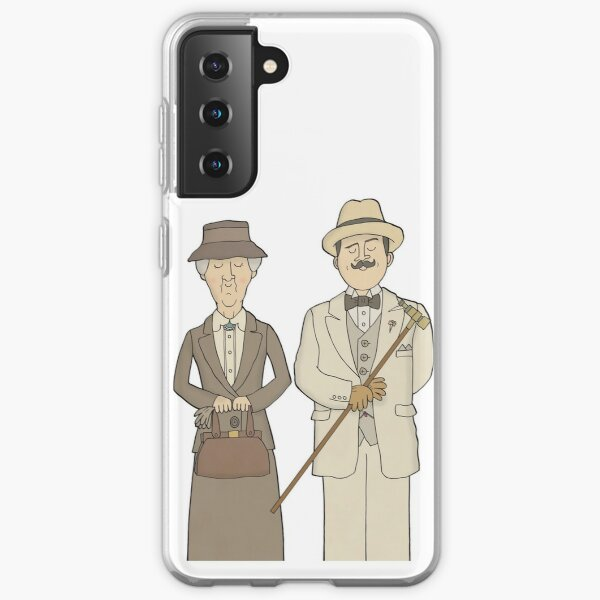 Marple and Poirot Samsung Galaxy Soft Case