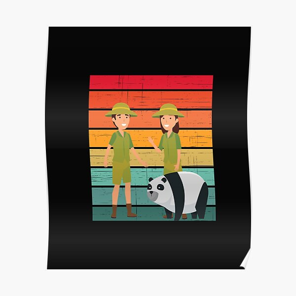 zookeeper lover design Poster