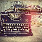 Old typewriter by Lenka Vorackova