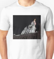 City Night Walks - Manhattan Municipal Building, a  Beaux-Arts Jewel Unisex T-Shirt
