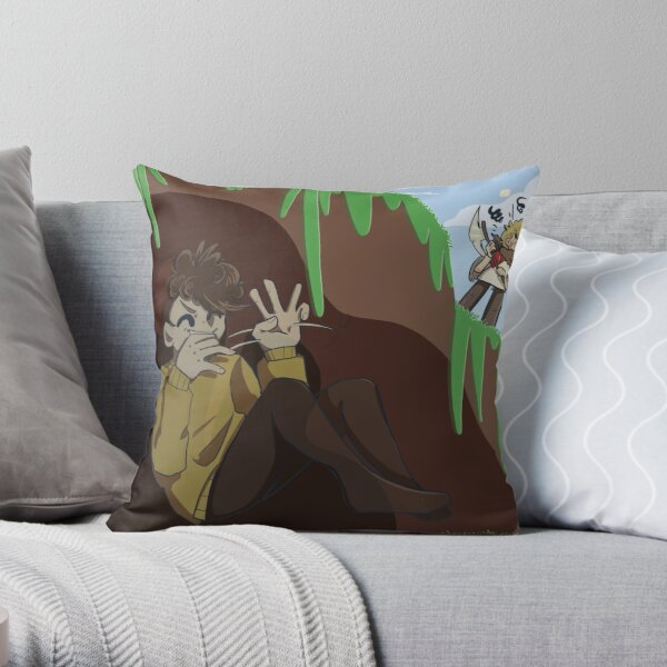 Tommy and Wilbur Throw Pillow