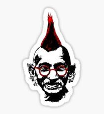 Punk Gandhi Sticker