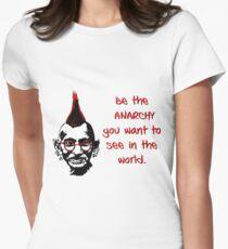 Punk Gandhi T-shirt moulant femme