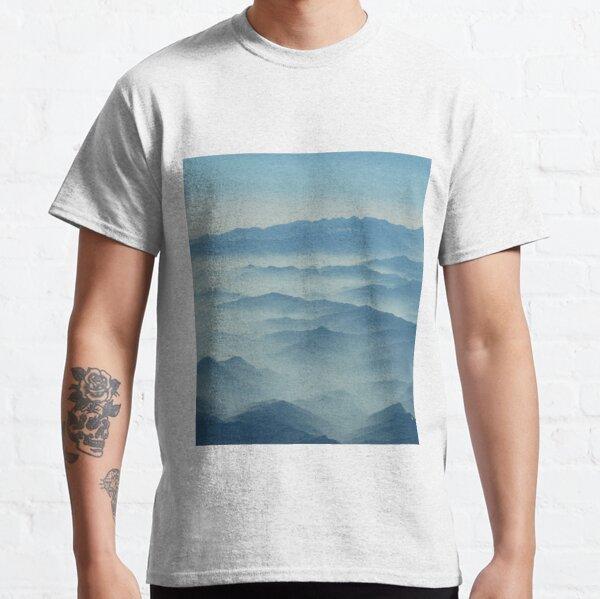 Tibetan Mountains aerial view Classic T-Shirt