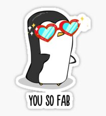 Fabulous Penguin! Sticker