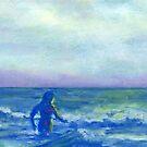 Mermaid (pastel) by Niki Hilsabeck