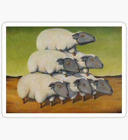 Sheep Stack Sticker
