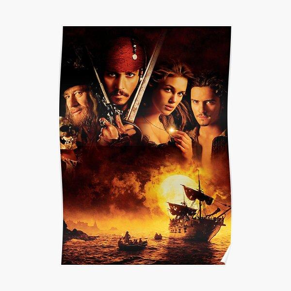 Pirates des Caraïbes La Malédiction du Black Pearl Poster