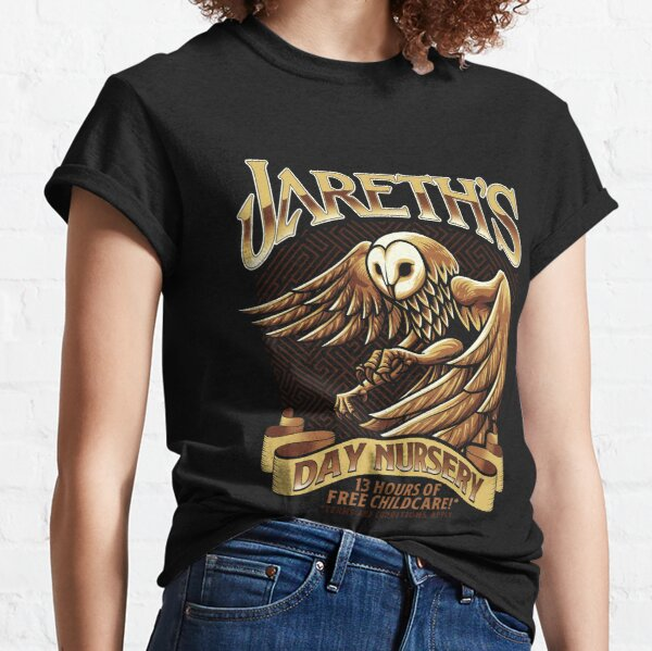 Jareth's Day Nursery - Inspired by Labyrinth Classic T-Shirt