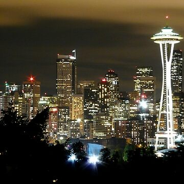 Seattle Skyline by TheDorkKnight
