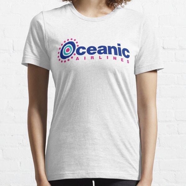 líneas aéreas oceánicas Camiseta esencial