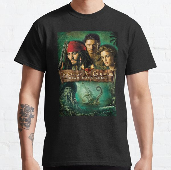 Pirates of the Caribbean Dead mans chest  Classic T-Shirt