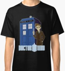 Dr Who Animated (no background) Classic T-Shirt