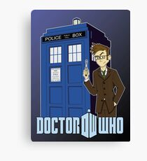 Doctor Who Animated Canvas Print