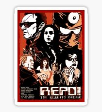 Repo the genetic opera Sticker