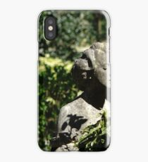 Lady in stone. iPhone Case/Skin