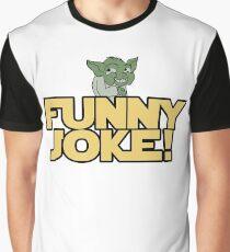Joke Yoda Graphic T-Shirt