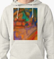 Colorful Abstract Art Laptop Skin Pullover Hoodie